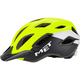MET Crossover Casco, safety yellow/white/black